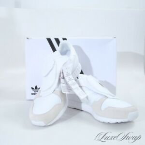 NIB Adidas x Hyke S79349 1984 Micropacer Pacer White Running Sneakers Shoes 9.5