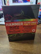 HAMMER Volume Three Blood & Terror 4 Film Blu-Ray Set BRAND NEW free region Rare