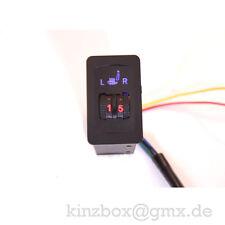 NeU2x Universal Set Nachrüstsatz PTC 5 Stufig Sitzheizung Carbon für VW Schalter