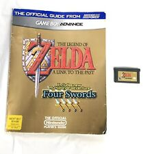 Legend Of Zelda A Link To The Past Four Swords Nintendo Game Boy Advance guide