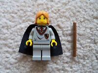 LEGO Harry Potter - Rare - Ginny Weasley Minifig w/ Wand & Cape