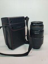 Sigma 70-300mm 1:4-5.6 APO Macro Super (Sony / Minolta AF mount) w/ Caps & Case