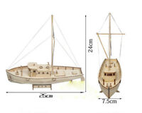 Ship Assembly Model DIY Kits Wooden Sailing Boat  Decoration Toy Gift 2020