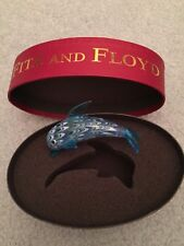 Fitz and Floyd Glass Menagerie Dolphin w/ original red oval box 43/136
