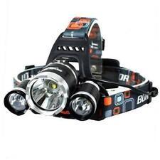 6000 LM Lumens 3 X XML T6 LED Rechargeable HEAD Torch Headlamp Lamp Light