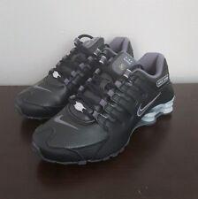 Nike Shox NZ EU Black Wolf Grey Women's Sz 7.5 Running Shoes 488312-025 NEW!!!