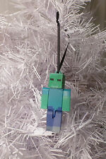 MINECRAFT INSPIRED~CUSTOM~ZOMBIE~CHRISTMAS TREE ORNAMENT~FIGURE~2 3/4""