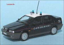 ALFA ROMEO 155 1.8 16V 1997 CARABINIERI scala 1:43  DA EDICOLA BELLISSIMA