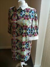 Sister Jane Floral 3/4 Sleeve Dress L RRP£69