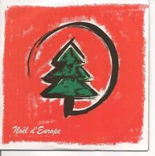 CD SINGLE HORS COMMERCE 10 TITRES--NOEL D'EUROPE
