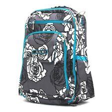 Brand New Ju-Ju-Be Be Right Back Backpack Diaper Bag - Charcoal Roses
