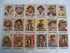 1966 Leaf Good Guys & Bad Guys Complete Set of 72 Cards Non-Sport Trading Cards