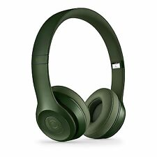 Beats Solo 2 Wired On-Ear Headphone - Hunter Green (Certified Refurbished)