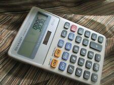 Sharp Elsimate El-334F 2-Way Battery Solar Power Tax 10 Digit Desktop Calculator