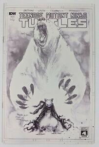 Teenage Mutant Ninja Turtles #66 Artists Edition Variant Cover B IDW 2011 NM