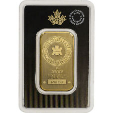 1 oz. Gold Bar - Royal Canadian Mint (RCM) - .9999 Fine in Assay