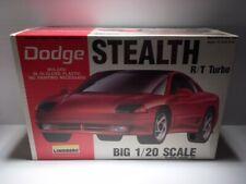 Lindberg Big 1:20 Scale Dodge Stealth R/T Turbo Model Kit 72501 New / Sealed