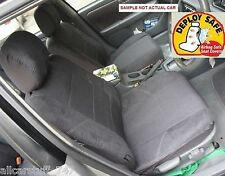 Tailor Made seat covers to fit Mitsubishi Pajero 7 seater Full Set Black or Char