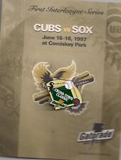 Cubs vs. Sox First Cross-Town Classic Gatorade 1997 ORIGINAL PACKAGING