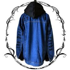 Vintage Harajuku Japanese Gothic Punk cowboy long sleeve Sweatshirt Coat Tops