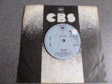 "BILLY JOEL ~ My Life,UK 7"" Promo 1978"