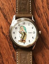 Vintage Disney Timex Sleepy from Snow White Character Watch