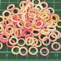 Pink Pearl Ombre Circle Wedding Table Confetti Scatter Decorations x 50 pcs PO1