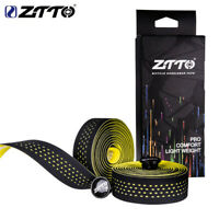 ZTTO 1pair Bike Bar Tape Vibration Damping AntiVibration EVA Handlebar Tape Wrap