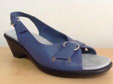 Ladies Hotter Comfort Concept Sling Back Blue Sandals (Kiwi) Size UK 6.5 EU 40