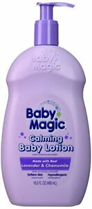 Baby Magic Calming Baby Lotion w/Lavender & Chamomile: 16.5 OZ (6 Pack)