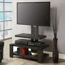 """Whalen 3-Shelf Television Stand with Floater Mount for TVs up to 55"""", Perfect..."""