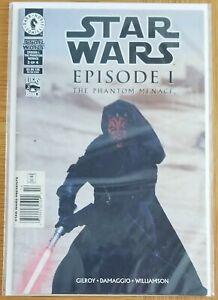 Dark Horse Comic...Star Wars Episode I: Phantom Menace #3, 1999, Good Condition