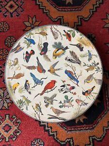 1965 Springbok Circular COMPLETE Jigsaw Puzzle SONG BIRDS Don Eckelberry C928