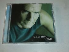 MICHAEL SADLER - Clear - 12-track Canada CD LP