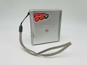 MD1829 working  SHARP HEADPHONE MD PLAYER MD-ST531-S  Silver