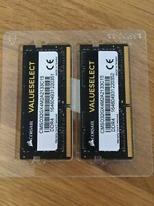 Corsair Value Select 32GB RAM Laptop DDR4 CMSO32GX4M2A2133C15 SODIMM 2133MHZ