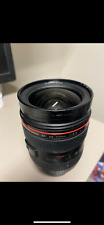 Canon Zoom Lens EF 28-70mm f2.8L USM - working great, dented filter ring