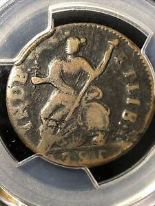 1785 Connecticut Copper  Pcgs Gen.Planchet Flaw Vf Detail M.3.2-L High Rarity 4