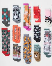 Forest Animals 12 Days Of Socks Womens Christmas Gift Set 2017 Advent Exclusive