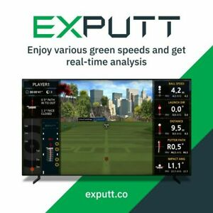 Exputt Putting Simulator - The latest in real-time putting simulator technology