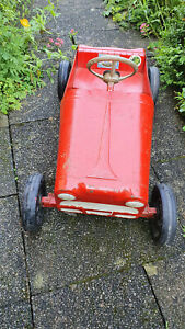 Very old German pedal car Pre war!?  made of tin toy car