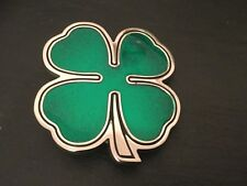 IRISH SHAMROCK New BELT BUCKLE Metal Ireland St Patricks Day Logo