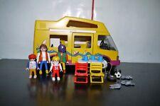Playmobil 3945 CAMPER VAN MOTOR HOME OUTDOOR CAMPING INCOMPLETE SET