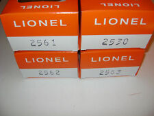 Lionel 2561-2562-2563-2530 Licensed Reproduction Boxes