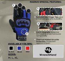 WrenchHand Magnus Work & Performance Gloves Medium Red