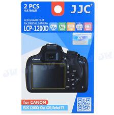 2PCS Camera Screen Protector Film for Canon 2000D 1500D Kiss X90 X80 Rebel T7 T6