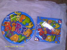 Birthday Gadgets Napkins & Plates  ( CeleBrations )