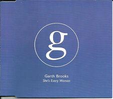 GARTH BROOKS She's every woman 3TRX sampler UK CD single SEALED USA seller 1995