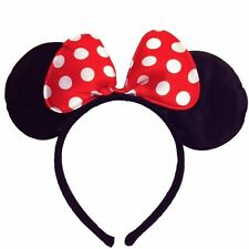 Minnie&Mickey Mouse Ears Headband/ Bows for Girls Fancy Dress/Xmas/Hen Parties