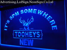 It's 5 pm Somewhere Tooheys Led Neon Sign Bar Beer Pub Club 3D Signs